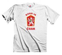 Obrázek k výrobku 1356 - tričko s potiskem BORN IN ČSSR 886149388e