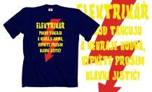 593ed99d711b Obrázek k výrobku 1423 - tričko s potiskem ELETRIKÁŘ TANCUJE